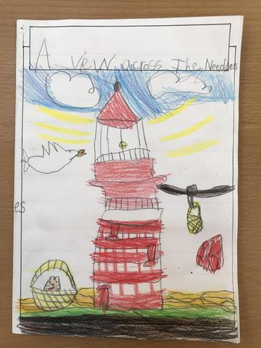 The Lighthouse Keeper's Lunch from the Perspective of the Lighthouse - Front Cover