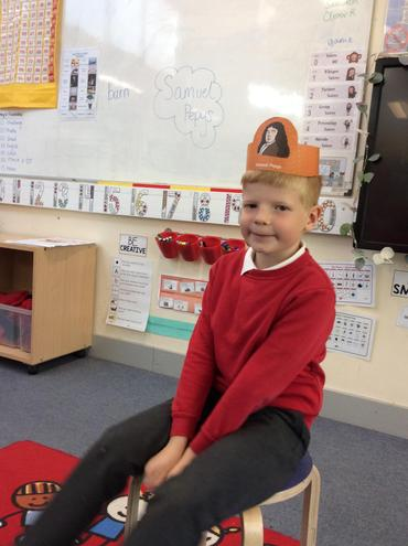 Our very own Samuel Pepys.