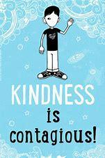 We will think about how to be kind to those who are different.