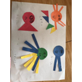 Emily's fabulous 2D  shape sea creatures