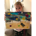 Emily's fabulous seaside picture