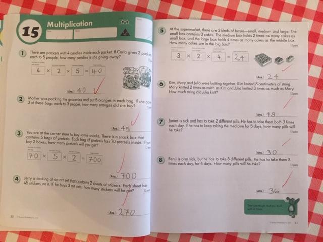 Applying Multiplication Skills: Adriana 4EH
