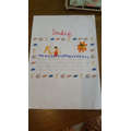 Sadie's super writing
