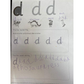 Mason's letter formation 4