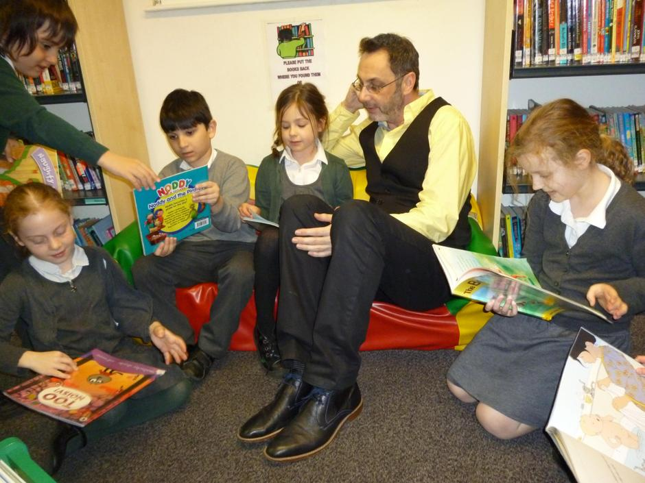 Reading at Chingford Library 2015