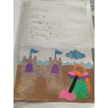 Alfie's amazing writing