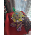 Emily's amazing Easter bonnet
