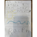 Ralph's fantastic writing