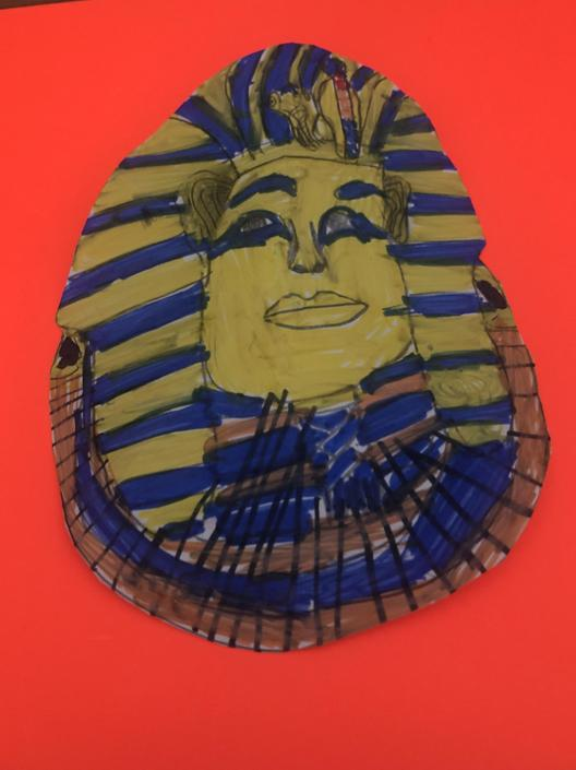 Egyptian mask: Alexander 4B