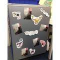 Animal Muddle work from the Interactive Whiteboard