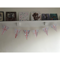 Niall and Ethan's VE day bunting