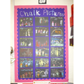 Our families - chalk art