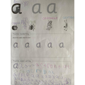 Mason's letter formation 1