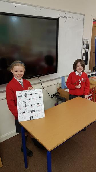 Linus created a model of a Penny Farthing and Francesca created a Victorian timeline.