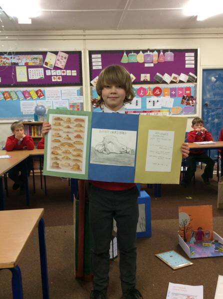 Gil created a menu from the Victorian period.