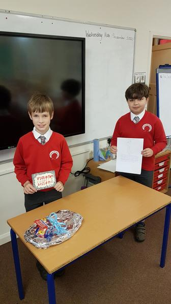 Henry and Sid created biscuits based on Victorian recipes.