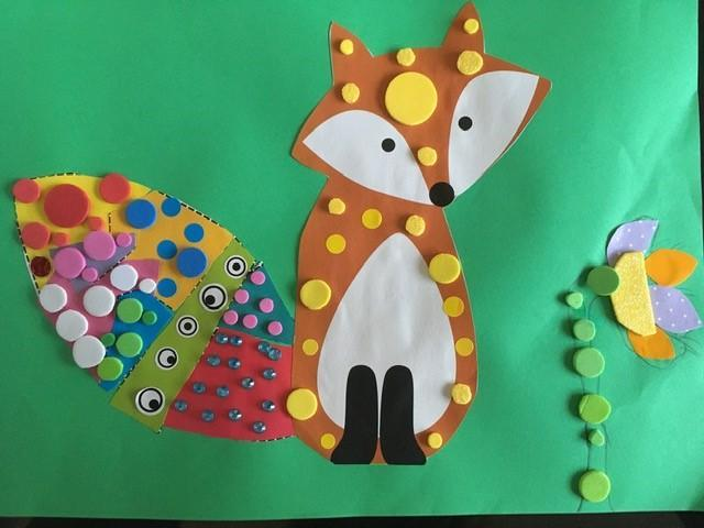 Kusama inspired polka dots by Sarah