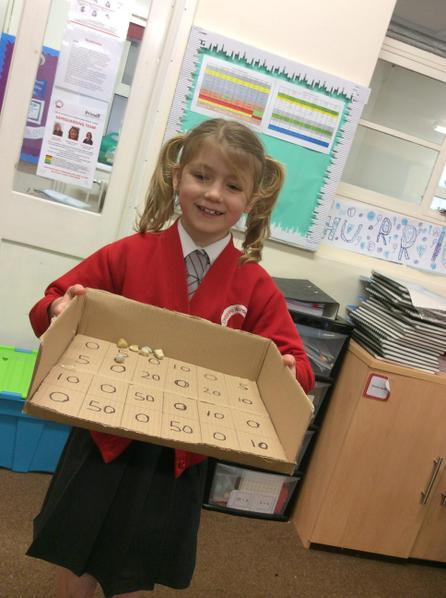 Ella designed an outdoor game that Victorian children could play.