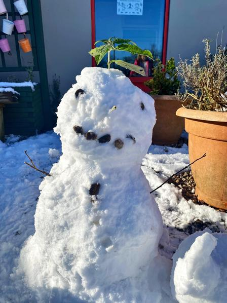 Year 34 Snowman!