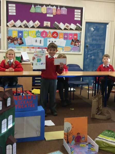 Archie researched 3 other cultures and found out what food they ate and created a poem.