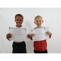 Reception  Stars of the Week