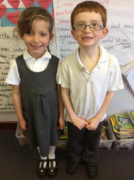 Class 4    Freya and Lee