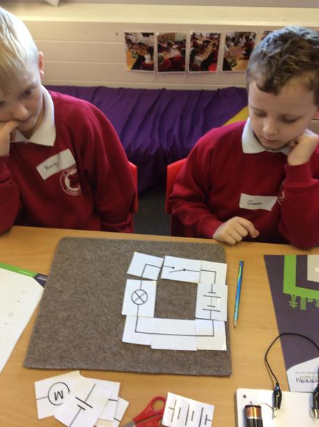 Can we create a circuit using symbols?