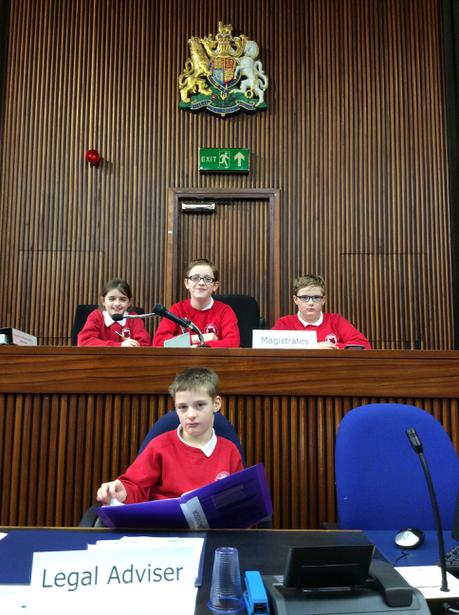 3 magistrates with Louis as chairman