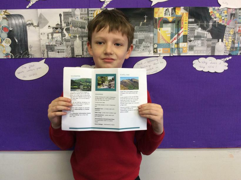 William's tourist leaflet