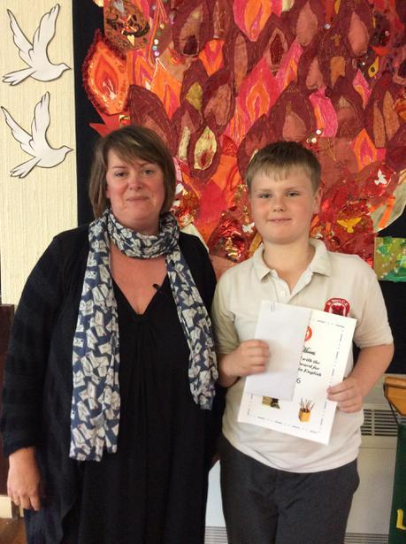 Achievement in English Award - Daniel Morris