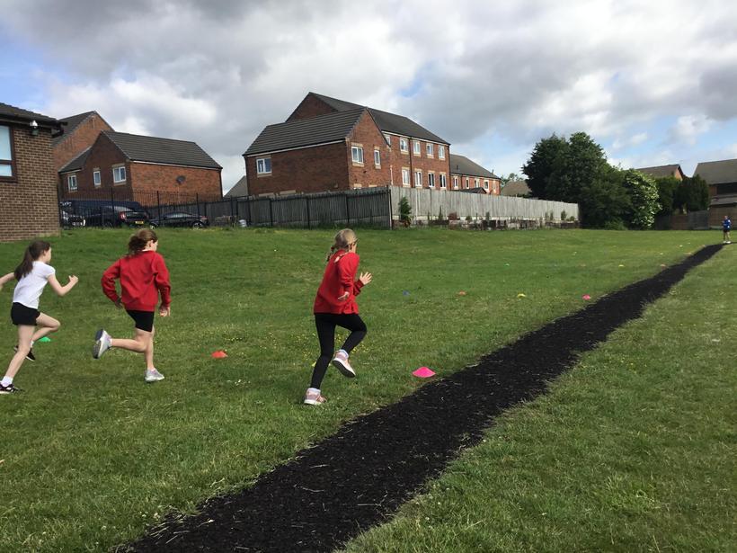 50m sprinting