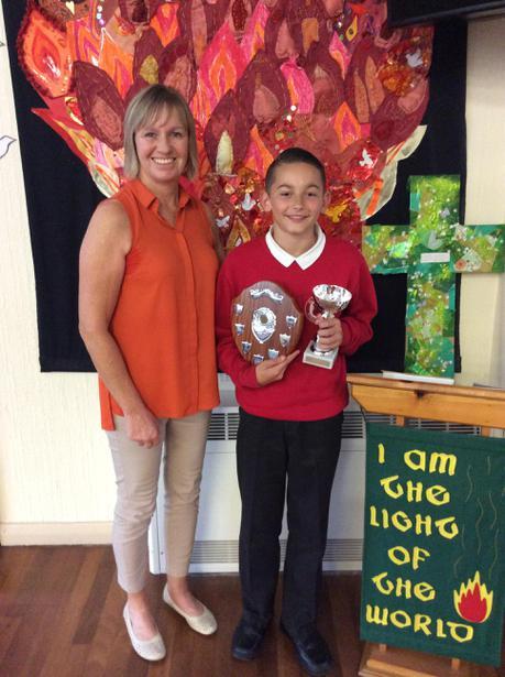 School Sports Achievement- Joshua Malaney