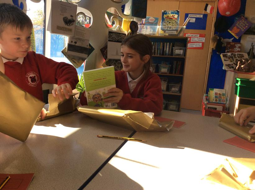 We discussed and then chose our first book