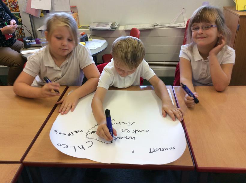 Scribing our ideas