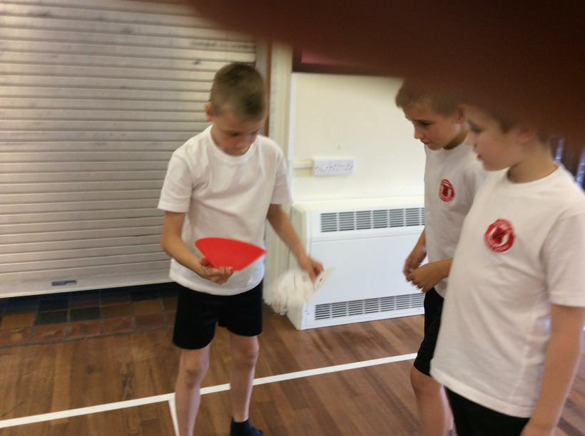 Using maths in P.E. - addition