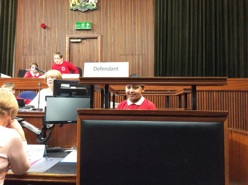 The Defendant enters a plea of 'Not guilty!'