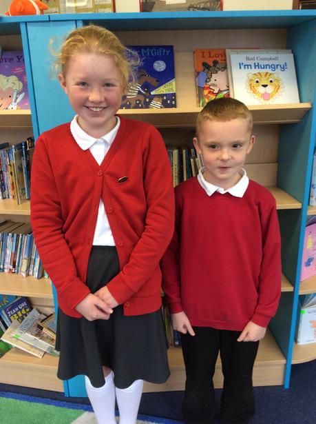 Class 10   Cerys and Logan