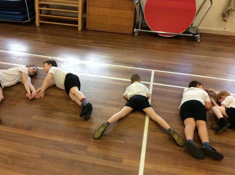 Making words with our bodies!