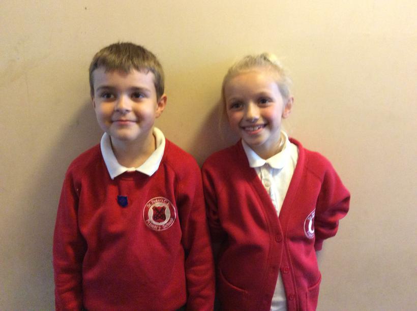 Rhys and Leah - Class 7