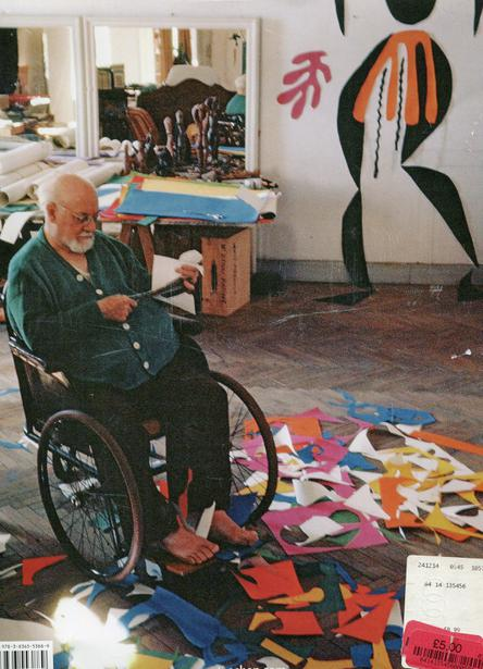 Matisse in his studio.