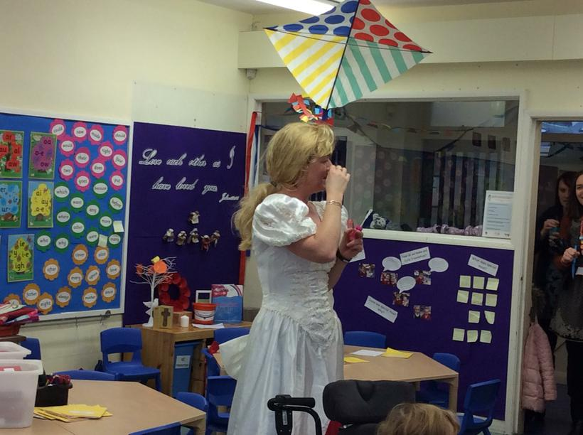 Class 3 offered to help Fairy Godmother.