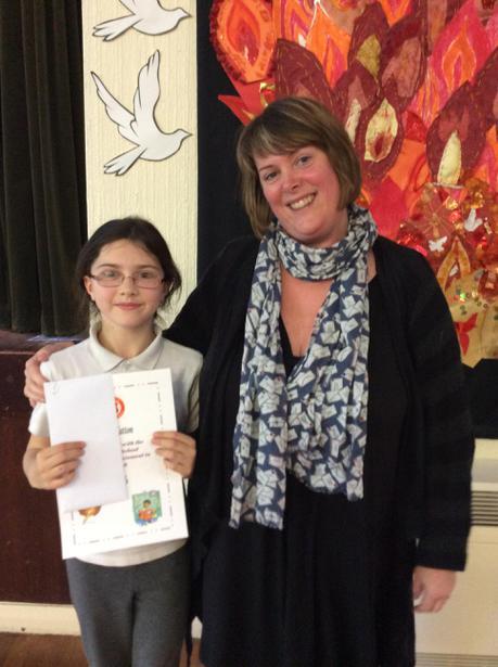 Attainment in English Award- Leah Hatton