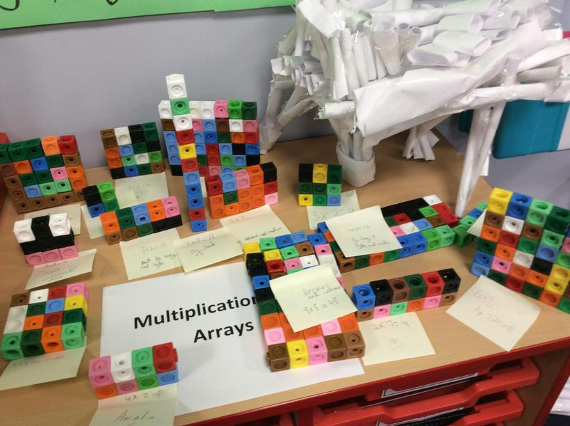 Multiplication gets big answers!