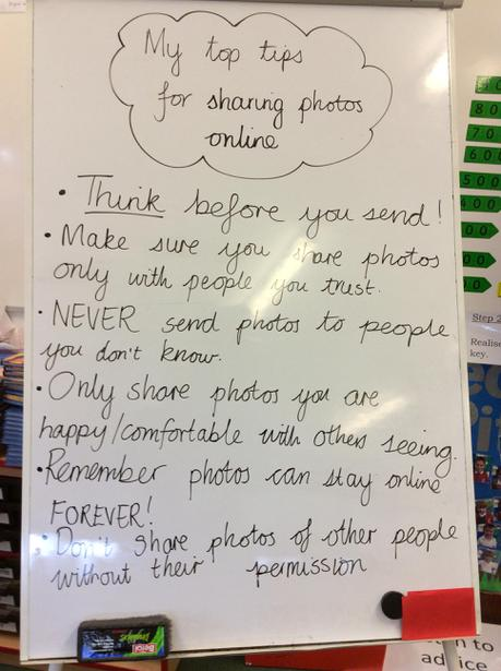 Our tips for sharing photos safely online.