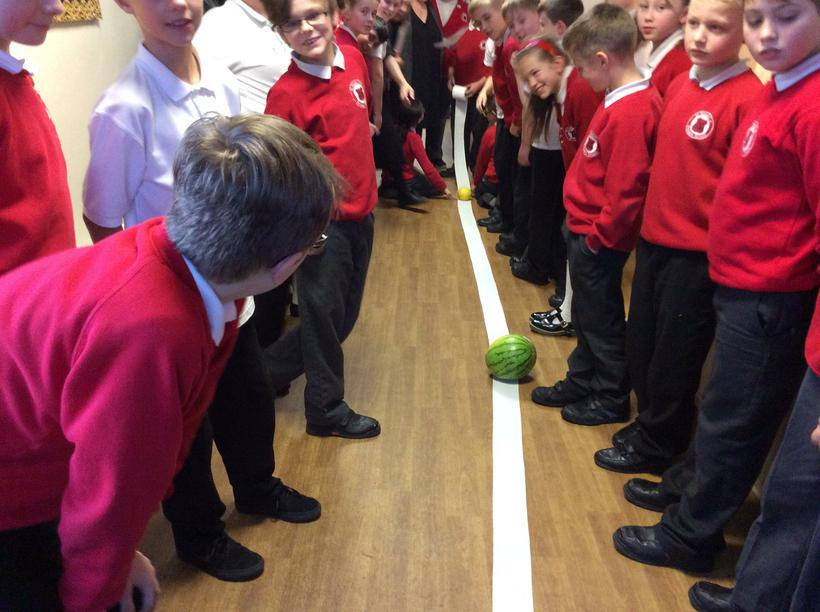 Jupiter the watermelon!