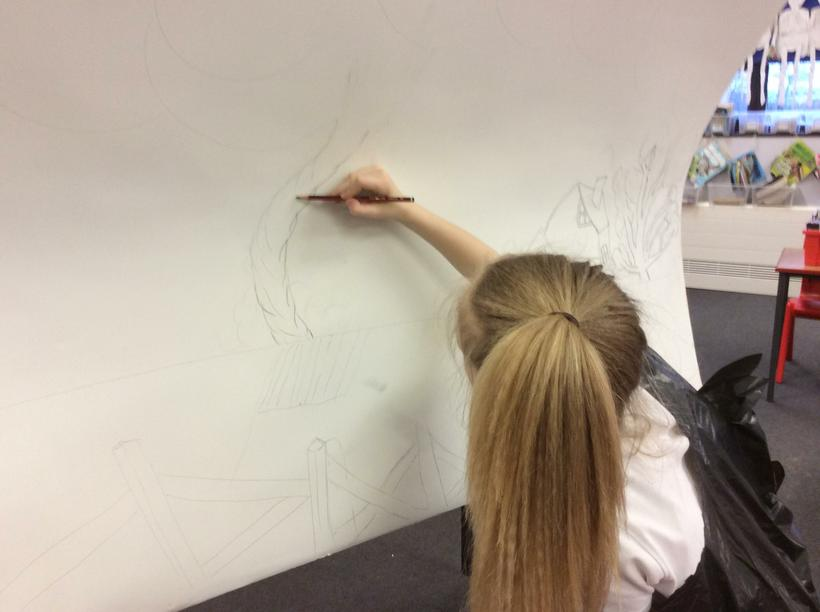 Drawing the tornado