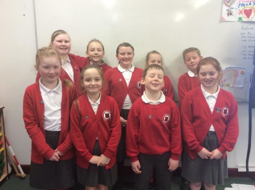 Our new Fairtrade steering group!