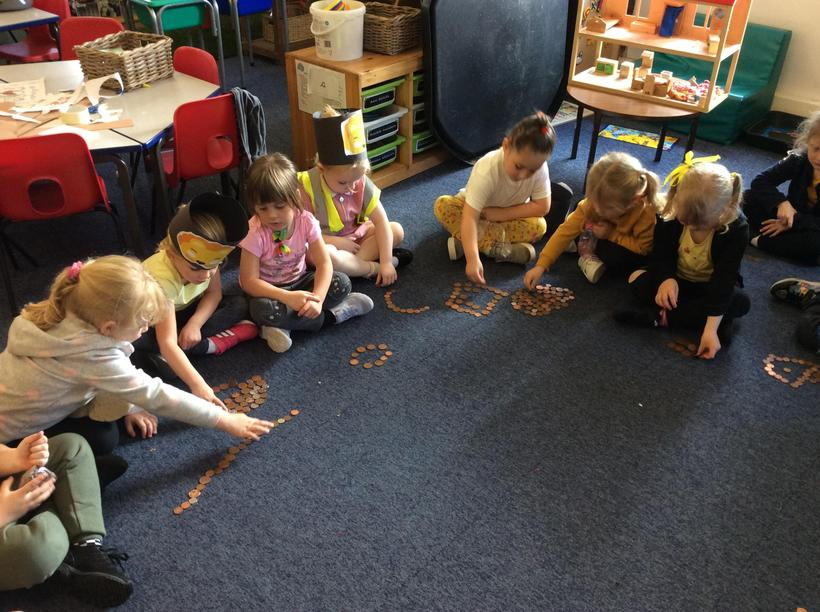 Making chains with our loose change
