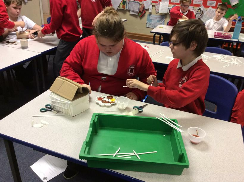 teamwork - turning boxes inside out
