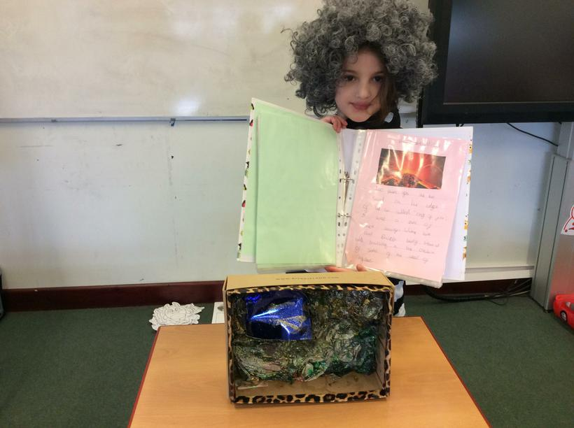 Olivia's 3D model and facts.